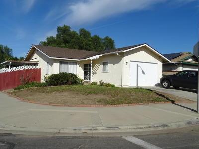 Moorpark Single Family Home For Sale: 12407 James Weak Avenue