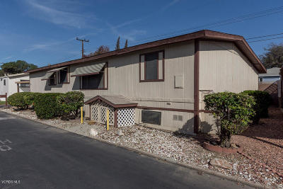 Santa Paula Mobile Home For Sale: 720 W Santa Maria Street #37