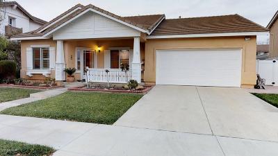 Fillmore Single Family Home For Sale: 955 Santa Fe Street