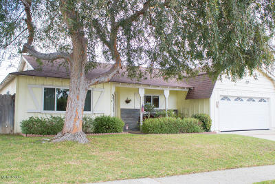 Ventura Single Family Home For Sale: 354 Saticoy Avenue