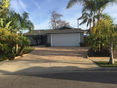 Camarillo Single Family Home For Sale: 238 Marker Avenue