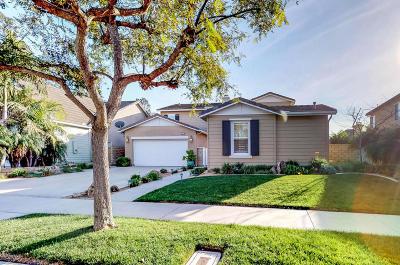 Oxnard Single Family Home For Sale: 3614 Fairmont Lane