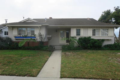 Ventura Single Family Home For Sale: 4600 Student Street