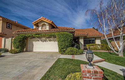 Camarillo Single Family Home For Sale: 887 Via Pacheco