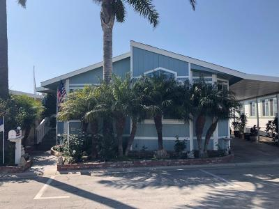 Ventura Mobile Home Active Under Contract: 1215 Anchors Way Drive #217