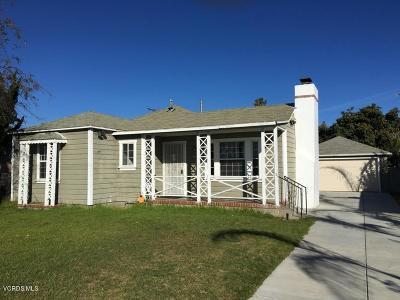 Oxnard Rental For Rent: 631 W Roderick Avenue