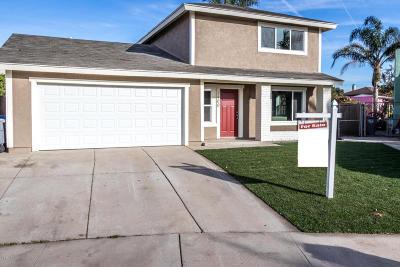 Oxnard Single Family Home For Sale: 3400 Pier Walk
