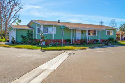 Oxnard Mobile Home Active Under Contract: 2464 Blueberry Drive #132