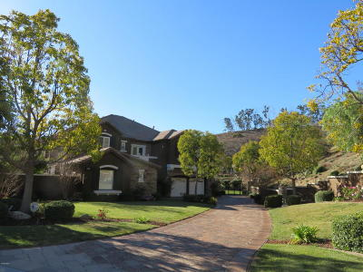 Camarillo Single Family Home Active Under Contract: 7169 Camino Las Ramblas