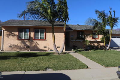 Santa Paula Single Family Home Active Under Contract: 229 Eliot Street