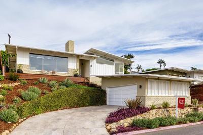 Ventura Single Family Home For Sale: 2167 El Jardin Avenue