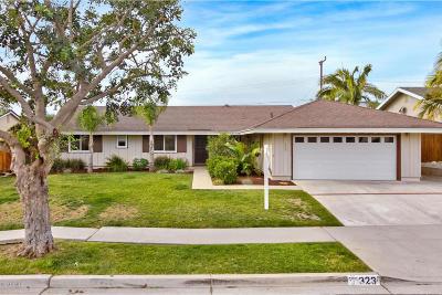 Ventura Single Family Home Active Under Contract: 323 Colusa Avenue