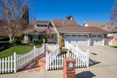 Agoura Hills Single Family Home For Sale: 5429 Forestridge Drive