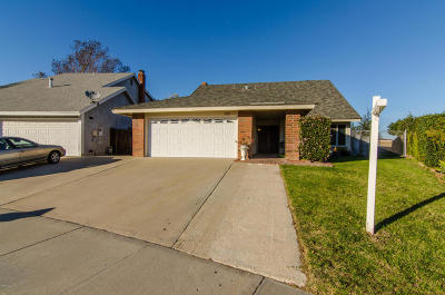 Oxnard Single Family Home Active Under Contract: 1991 Jeffreys Place