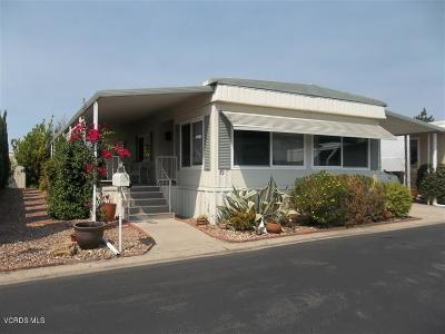 Ventura County Mobile Home For Sale: 82 Don Antonio Way