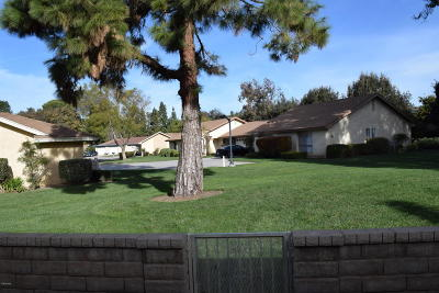 Camarillo Single Family Home Active Under Contract: 15205 Village 15