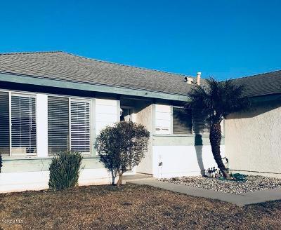 Oxnard Single Family Home Active Under Contract: 4510 San Juan Avenue
