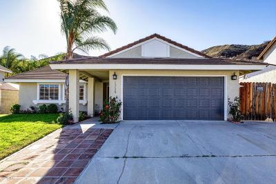 Santa Paula Single Family Home For Sale: 1734 Cherry Hill Road