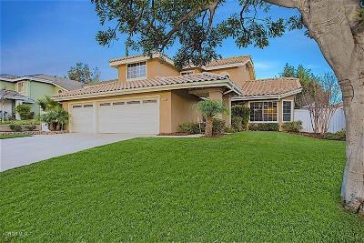 Ventura County Single Family Home Active Under Contract: 1660 Via La Silva