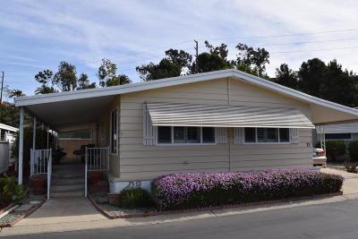 Camarillo Mobile Home For Sale: 73 Caleta Drive #163