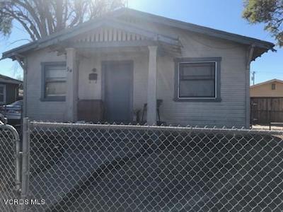 Ventura Single Family Home Active Under Contract: 94 W Harrison Avenue