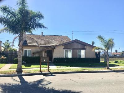Oxnard Single Family Home For Sale: 1031 Dunes Street #B