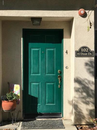 Santa Paula Single Family Home Active Under Contract: 102 Dean #4