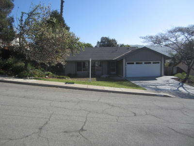 Newbury Park Single Family Home Active Under Contract: 774 Danvers Circle