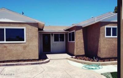 Oxnard Single Family Home For Sale: 1155 W Juniper Street