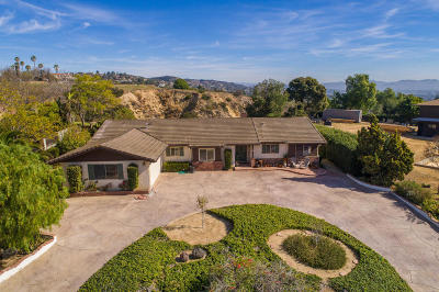 Camarillo Single Family Home Active Under Contract: 34 Estaban Drive