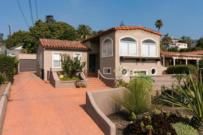 Ventura Single Family Home Active Under Contract: 1417 Buena Vista Street
