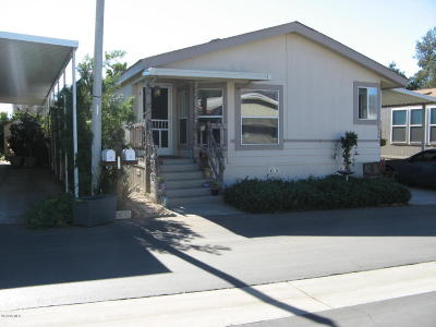 Ojai Mobile Home For Sale: 1975 Maricopa Highway #73