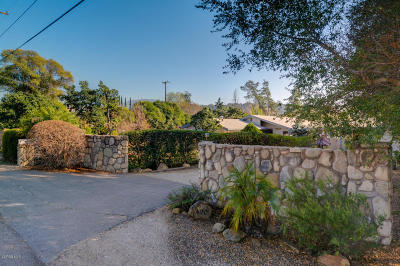 Ojai CA Single Family Home For Sale: $925,000