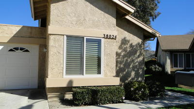 Camarillo Single Family Home Active Under Contract: 38024 Village 38