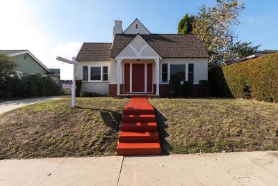 Ventura Single Family Home Active Under Contract: 45 San Clemente Street