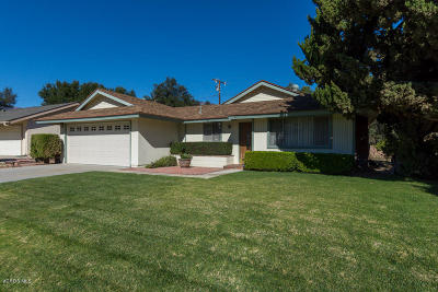 Santa Paula Single Family Home Active Under Contract: 1347 Magnolia Drive