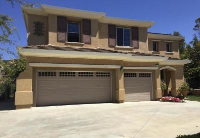 Newbury Park Single Family Home For Sale: 5320 Via Jacinto