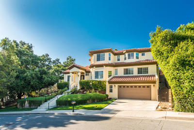 Westlake Village Single Family Home Active Under Contract: 818 Rim Crest Drive
