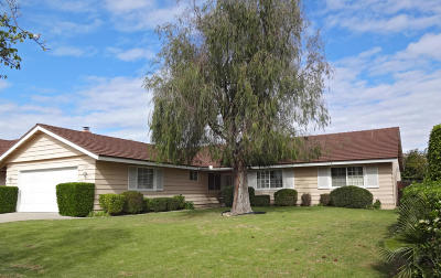 Ventura Single Family Home For Sale: 7571 Jackson Street