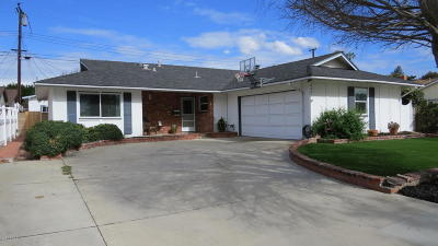 Ventura Single Family Home Active Under Contract: 6003 Cloverly Street