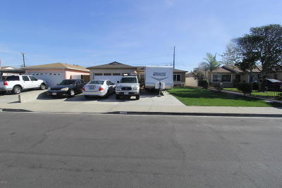 Port Hueneme Single Family Home Active Under Contract: 1516 6th Place