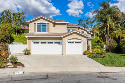 Camarillo Single Family Home Active Under Contract: 777 Aliento Way
