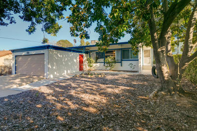 Ojai Single Family Home For Sale: 1450 Cruzero Street