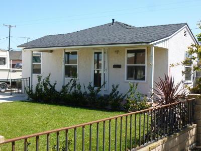 Oxnard Single Family Home For Sale: 432 W Elm Street