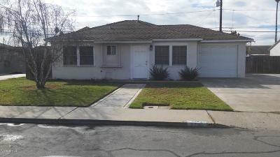 Ventura County Single Family Home For Sale: 224 McMillan Avenue