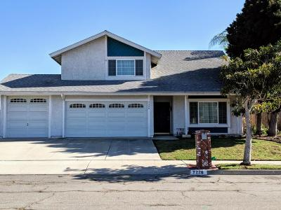 Ventura Single Family Home Active Under Contract: 7226 Wolverine Street