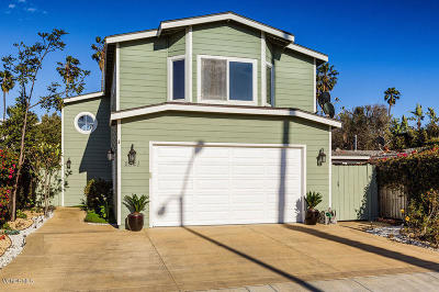 Ventura Single Family Home Active Under Contract: 2521 Pierpont Boulevard
