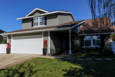 Newbury Park Single Family Home For Sale: 950 Tapies Court