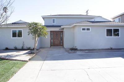 Oxnard Single Family Home For Sale: 2040 S J Street