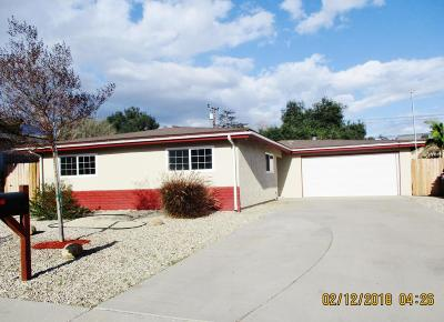 Santa Paula Single Family Home For Sale: 751 Ernest Drive